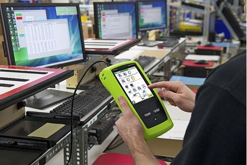 Netscout Onetouch AT im Gebrauch