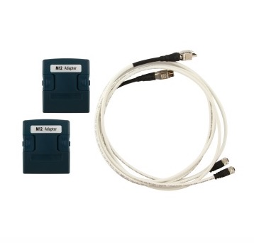 WireXpert Industrial Ethernet / M12-Adapter (4 polig und 8 polig)