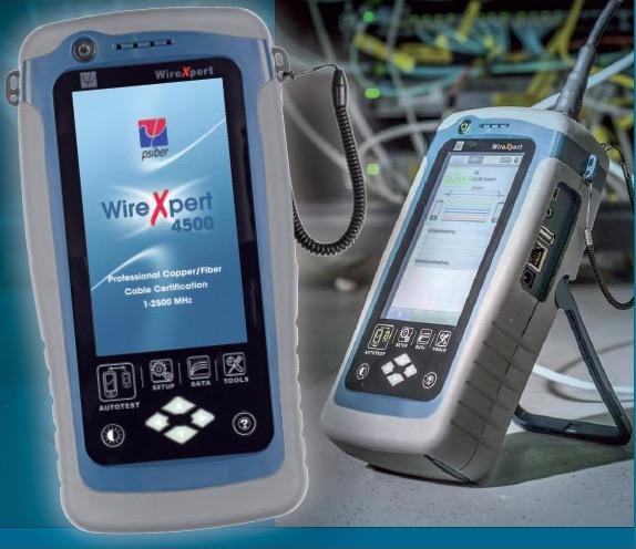 WireXpert4500 Seitenansicht