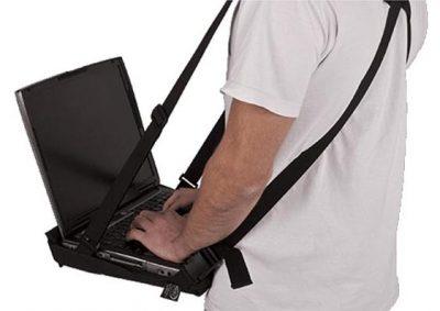 Notebook Tragesystem von der Seite