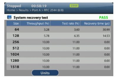 Albedo Ether.Genius system recovery test Pass