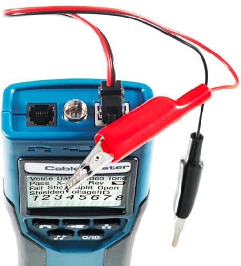Softing Cablemaster 400 Klemmen