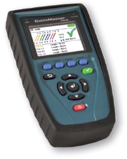 Softing Cablemaster 800 Geräteansicht