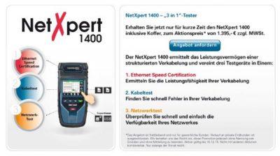 Softing Netexpert 1400 Leistungen