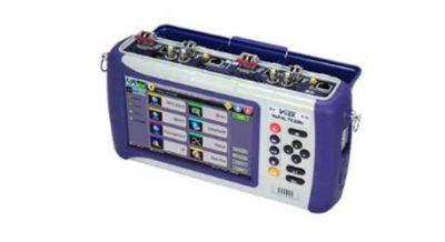 VeEx TX300 S/TX320 S Gerät mit Anschlusssicht