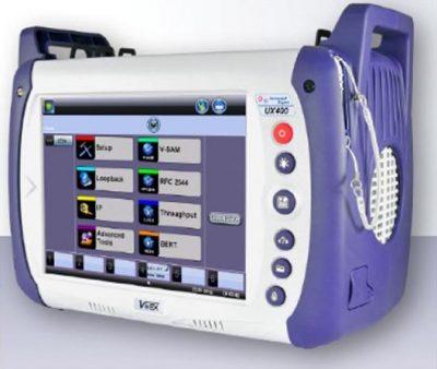 VeEx UX400 Frontalansicht