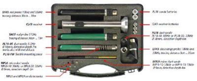 Vesala CL43 Geräteüberblick