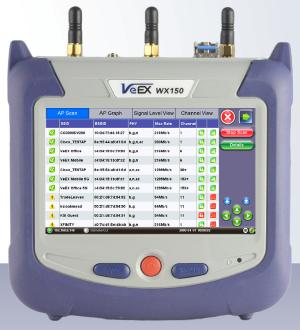 VeEx WX150 WLAN Tester