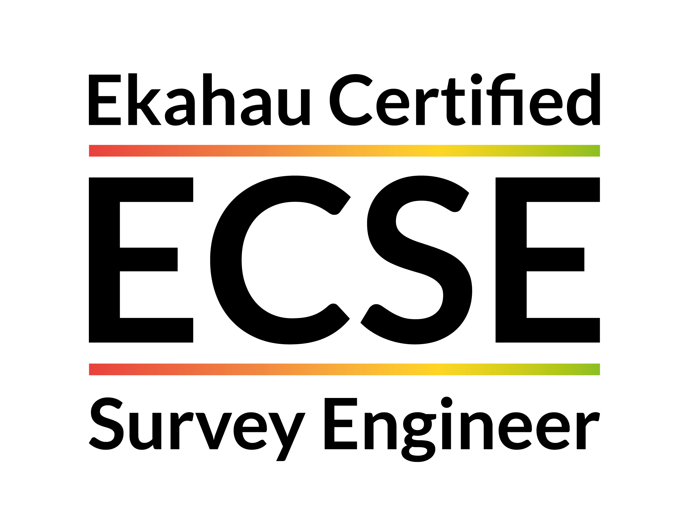 ECSE - Ekahau Certified Survey Engineer